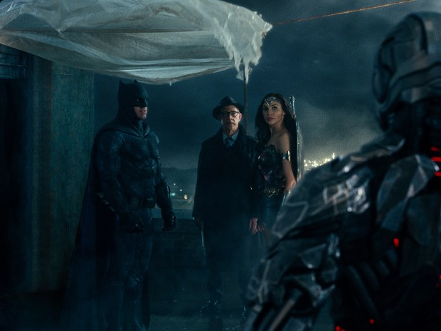 Image result for bruce wayne diana justice league
