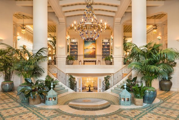 The luxurious Hotel Casa Del Mar in Santa Monica. (Hotel Casa Del Mar)