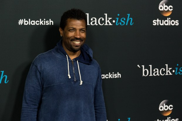 "Deon Cole arrives at the ""Blackish"" FYC event at the Dave & Buster's on Friday, June 10, 2016, in Los Angeles. (Photo by Willy Sanjuan/Invision/AP)"