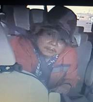 The Honolulu Police Department released this photo of Randall Saito, whoescaped from the Hawaii State Hospital. This photo was taken in a taxi on Sunday, November 12, 2017. (Honolulu Police Department)