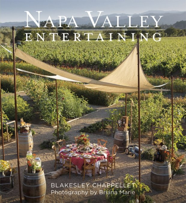 "Blakesley Chapellett's new ""Napa Valley Entertaining"" book offers plenty ofparty inspiration, from festive themes to mouthwatering recipes and glossy photographs, courtesy of photographer Briana Marie. (Napa Valley Entertaining)"