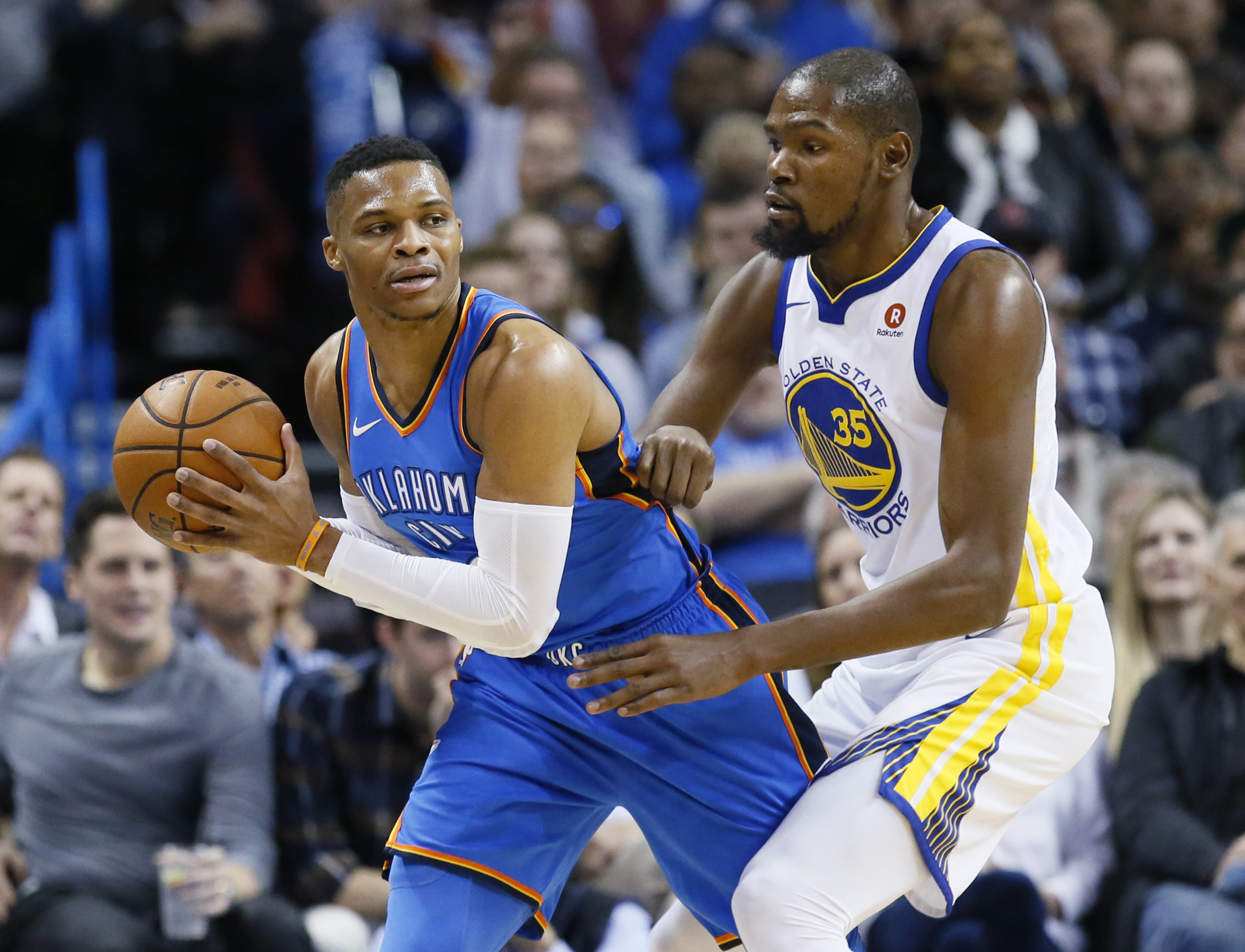 Russell Westbrook on building momentum after win over Warriors