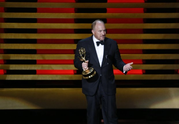 Louis C.K. during the 66th Annual Primetime Emmy Awards at Nokia Theatre atL.A. Live in Los Angeles on Monday, Aug. 25, 2014. (Robert Gauthier/Los Angeles Times/MCT)