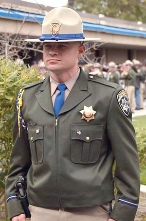 CHP Officer Andrew Camilleri was killed on Christmas Eve when a suspected DUI driver plowed into the back of his parked patrol car, Dec. 24, 2017. (Courtesy CHP)