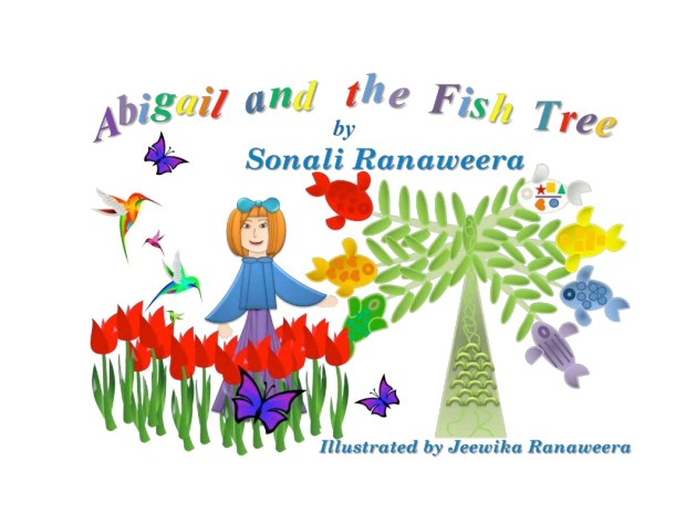Sonali Ranaweera, currently a high school senior, wrote this story back in sixth grade for a writers' workshop. It was recently published and can be purchased through Amazon. All proceeds are being donated to the charity Sonali started--Recycling4Smiles.(courtesy photo)
