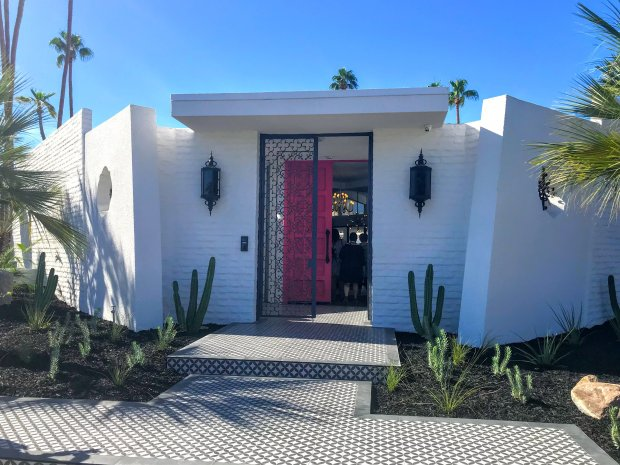 Modernism meets Marrakech in this 1975 Hal Lacy-designed home, which ispart of a showcase tour during Palm Springs' 2018 Modernism Week. (Courtesy of Mary Orlin)