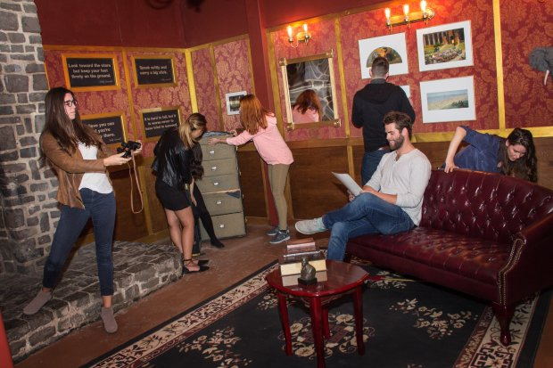 Palace Games' elaborately designed Roosevelt Escape Room at San Francisco'sPalace of Fine Arts takes you into Teddy Roosevelt's parlor and a series of secret rooms to untangle puzzles and find your way out. (Palace Games)