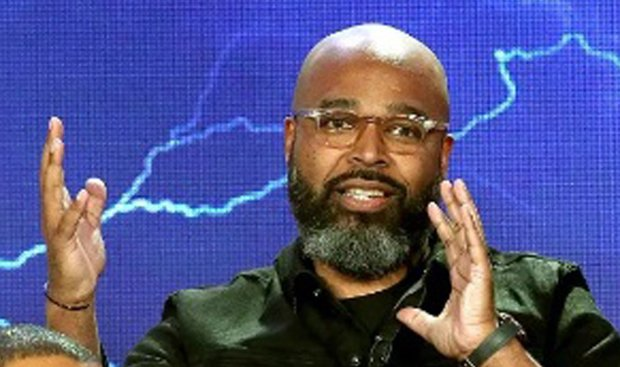 """Black Lightning,"" producer-writer Salim Akil. (The CW)"