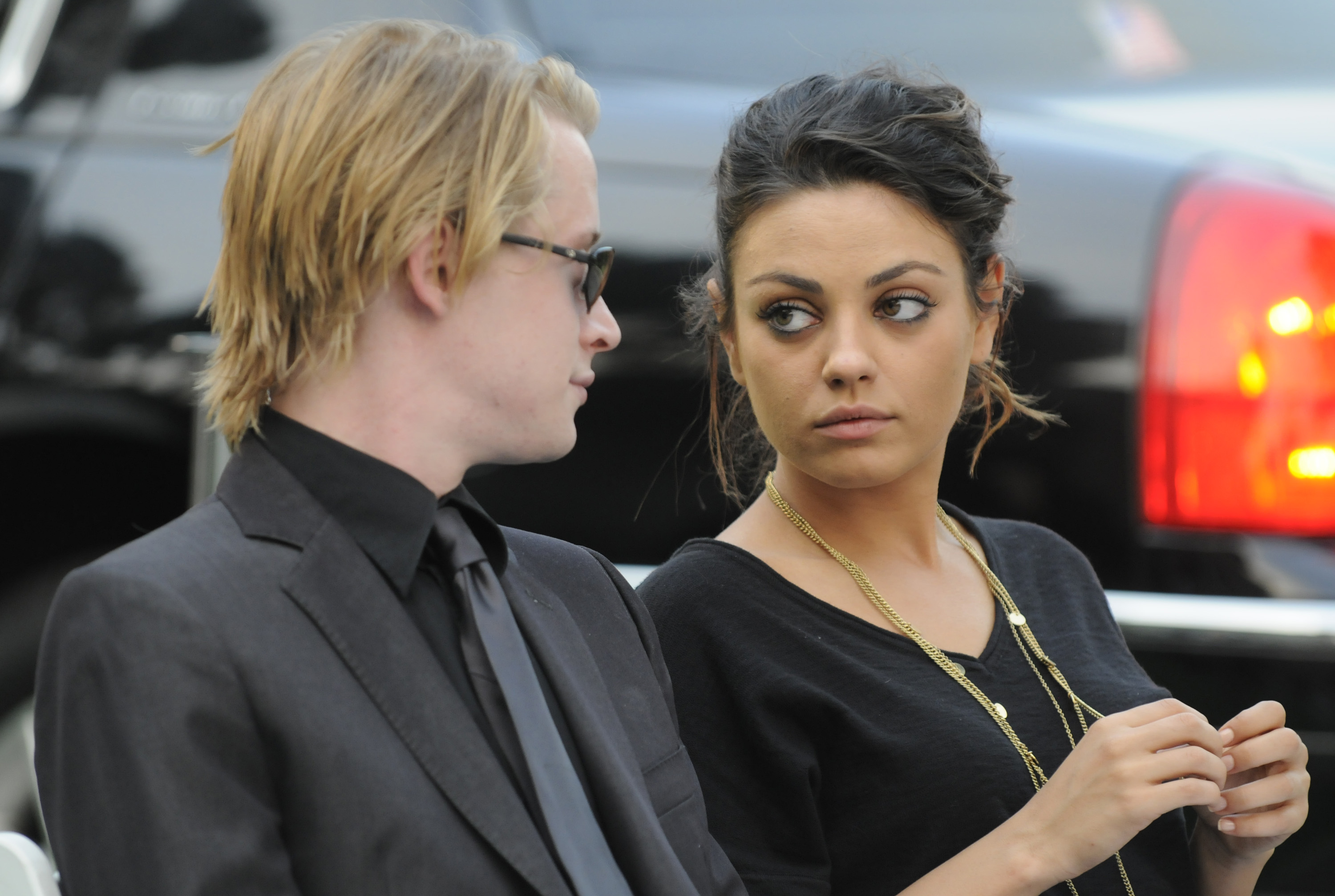 Macaulay Culkin Is Overprotective of Goddaughter Paris Jackson