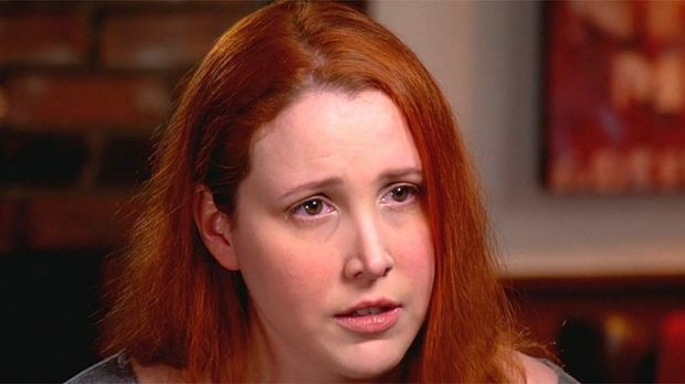 """Dylan Farrow sits down with """"CBS This Morning"""" to talk about allegedly being sexually assaulted by Woody Allen in 1992. (CBS)"""