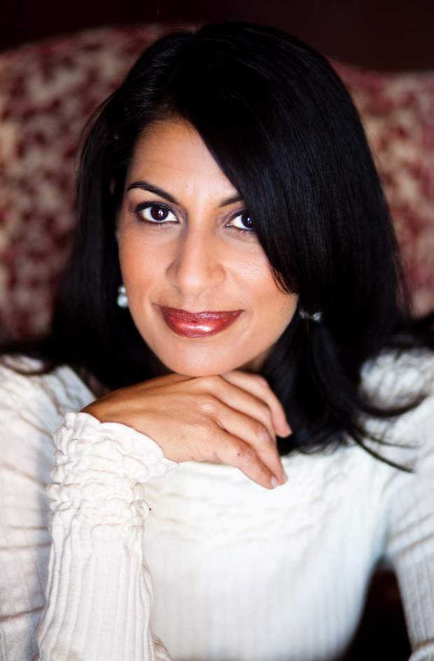 Shilpi Somaya Gowda will discuss her recent bookThe Golden Sonand her 2010 bestseller Secret Daughter with moderator Katherine Maxfield at the Montalvo Arts Center on Wednesday, Jan. 31, 2018, 11:30 a.m.  (Photograph courtesy of Stacy Bostrom Photography)