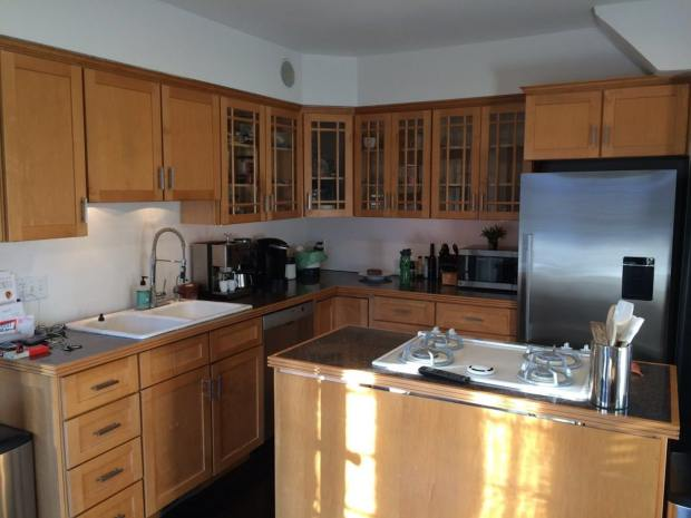 Home improvement: Unusual remodel ditches the kitchen island ...