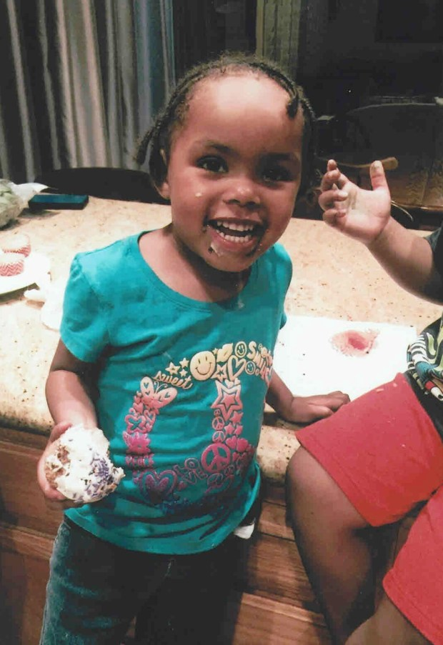 Mariah, a 3-year-old girl born in Berkeley, died on October 16, 2015, after ingesting meth two days after she was placed by Child Protective Services in Stockton. (Courtesy of Darren Kessler)