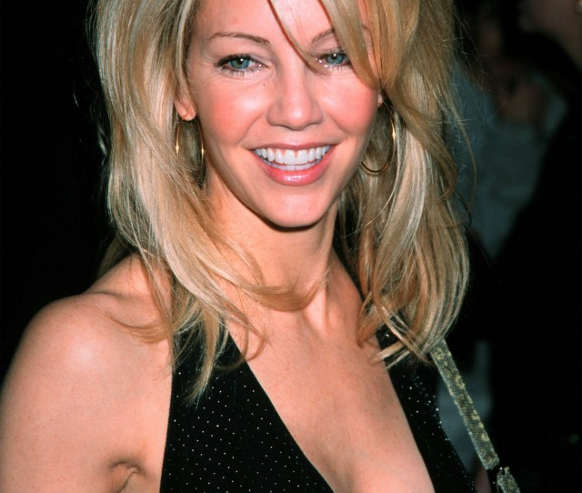 Heather Locklear Attends The Opening Night Of Aida At The Palace Theatre On Broadway In New York City March 23 2000 Laura Walters