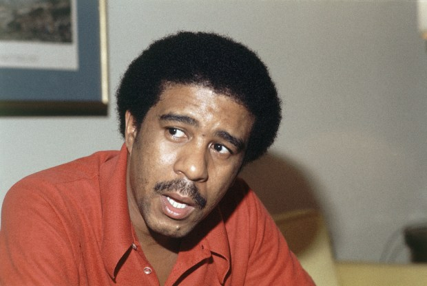 REN FREHM/ASSOCIATED PRESSRichard Pryor is shown during interview at the Regency Hotel in New York City on Aug. 1, 1977.(AP Photo/Ron Frehm)