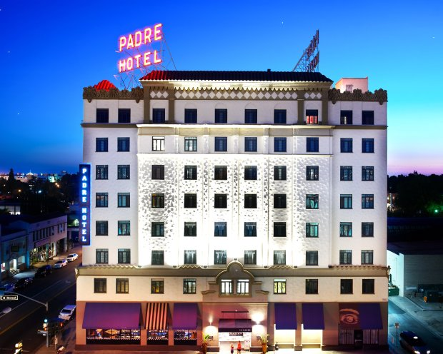 Bakersfield's luxurious Padre Hotel was built in 1928. (Padre Hotel)