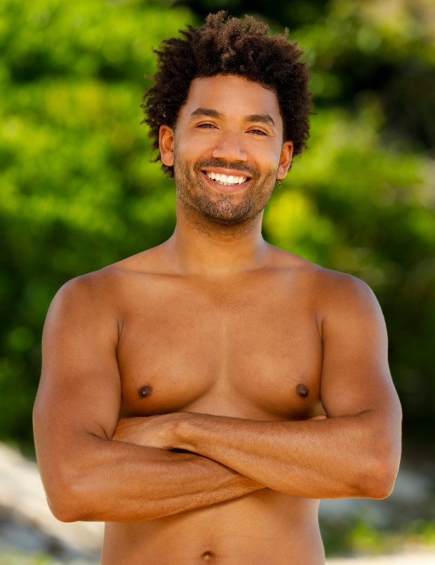 Wendell Holland will be competing on 'Survivor: Ghost Island.' (Robert Voets/CBS)