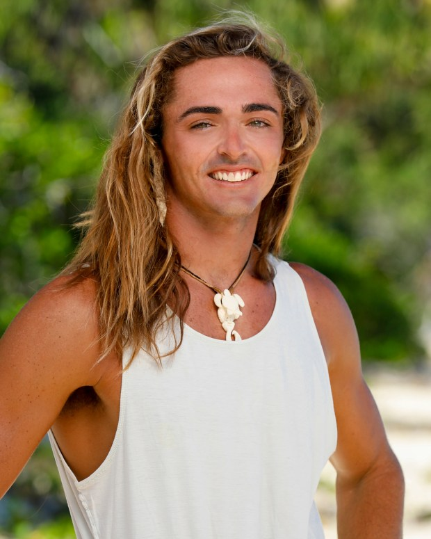 Sebastian Noel will be competing on 'Survivor: Ghost Island.' (Robert Voets/CBS)
