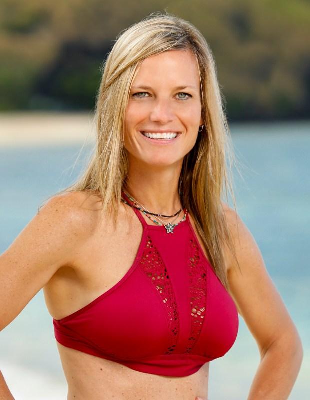 Angela Perkins will be competing on 'Survivor: Ghost Island.' (Robert Voets/CBS)
