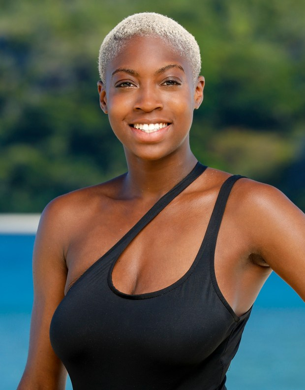 Desiree Afuye will be competing on 'Survivor: Ghost Island.' (Robert Voets/CBS)