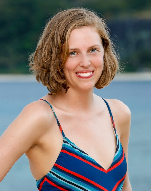 Kellyn Bechtold will be competing on 'Survivor: Ghost Island.' (Robert Voets/CBS)