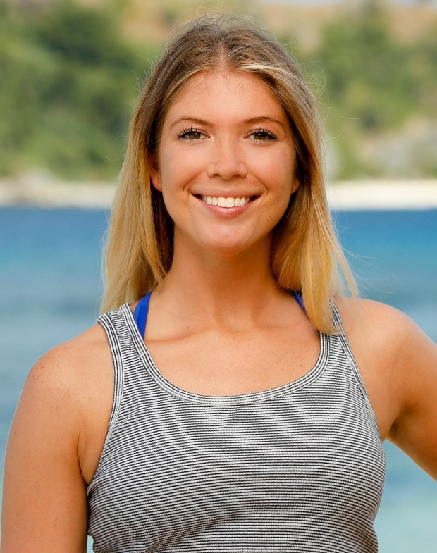 Jenna Bowman will be competing on 'Survivor: Ghost Island.' (Robert Voets/CBS)