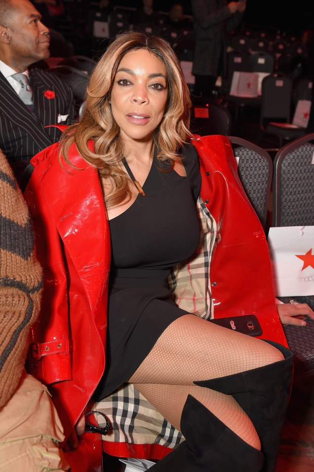 NEW YORK, NY - FEBRUARY 08: TV personality Wendy Williams poses backstage at the American Heart Association's Go Red For Women Red Dress Collection 2018 presented by Macy's at Hammerstein Ballroom on February 8, 2018 in New York City. (Photo by Michael Loccisano/Getty Images for AHA)