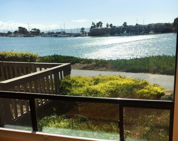 This Alameda home comes with a bay view and is tucked away in Crown Harbor, a secluded gated neighborhood.