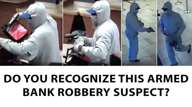 Authorities on Thursday released these images of a man suspected of robbinga Wells Fargo Bank at 1705 North First St. on Dec. 16. (Courtesy of the San Jose Police Department)