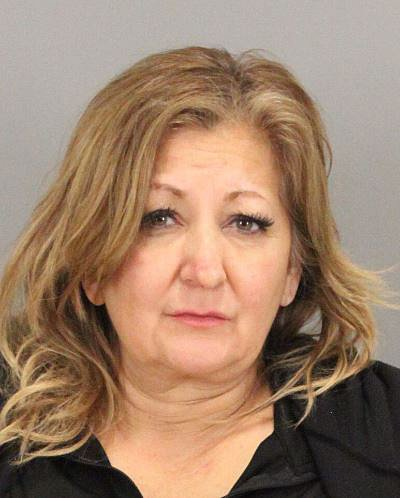 Elizabeth Marie Armendariz, 53, of San Jose, was arrested on suspicion offelony driving under the influence following an ultimately fatal collision at Silicon Valley Boulevard and the northbound Highway 101 off-ramp on Feb. 4. (Courtesy of the San Jose Police Department)