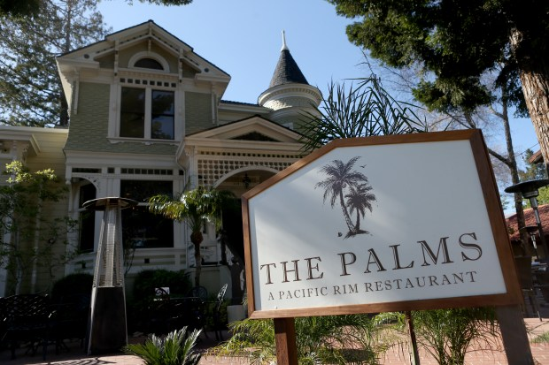 The Palms restaurant is photographed in Los Gatos, Calif., on Wednesday, March 29, 2018. (Anda Chu/Bay Area News Group)