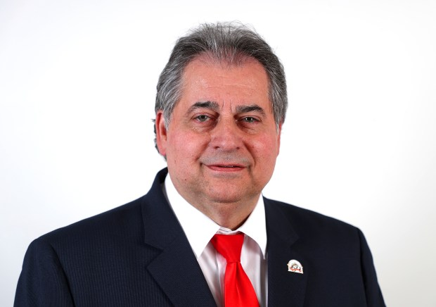 Contra Costa County Superintendent of Schools candidate Ron Leone is photographed on Thursday, April 26, 2018, in Walnut Creek, Calif. (Aric Crabb/Bay Area News Group)