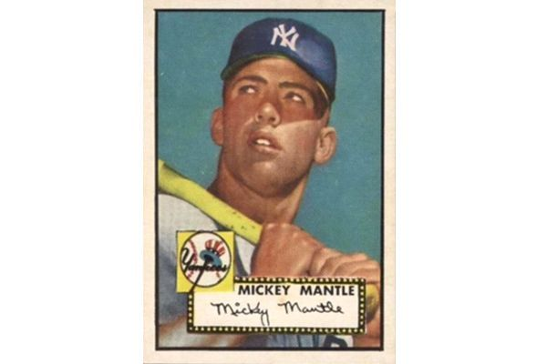 House Of Cards Ex Nfl Player Sells Mantle Rookie Card To