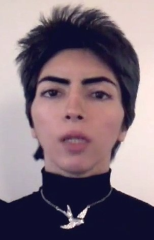 Suspected YouTube shooter Nasim Aghdam.