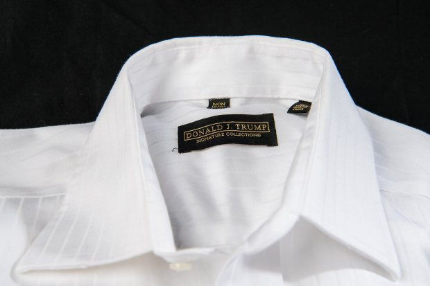 A Donald Trump branded shirt. MUST CREDIT: Washington Post photo by SalwanGeorges