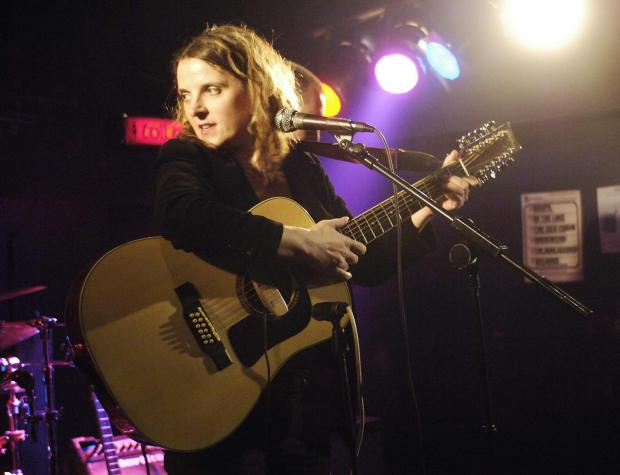 LONDON, United Kingdom: **UK OUT** Singer Abigail Hopkins, daughter of actor Sir Anthony Hopkins performs at the Garage venue at Highbury Corner in London, 21February 2006. AFP PHOTO/Andrew Stuart/**UK OUT** (Photo credit should read ANDREW STUART/AFP/Getty Images)