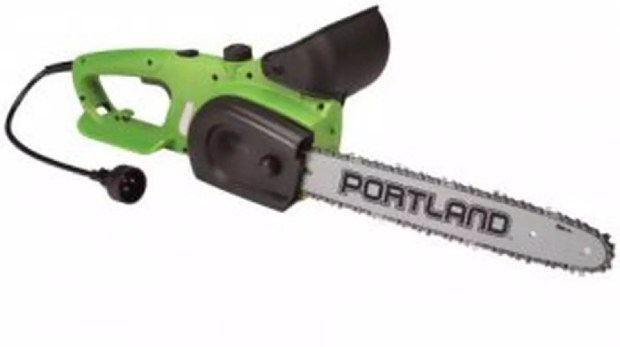 A 14-inch Portland electric chain saw. (U.S. Consumer Product Safety Commission)