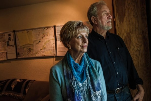 Carol Daly and Richard Shelby were two of the Sacramento County Sheriff's Department detectives assigned to the East Area Rapist case early on. (Nick Otto/For The Washington Post)