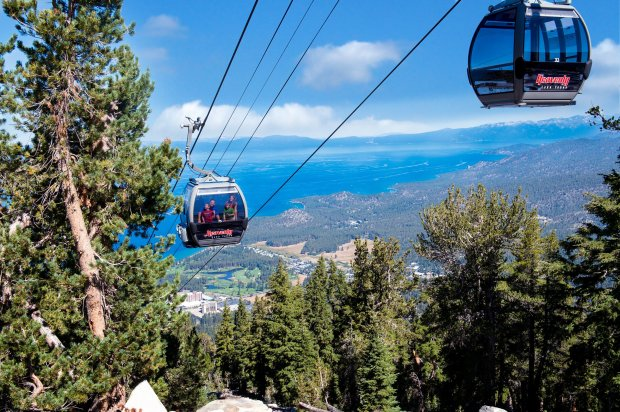 The mountaintop adventures of Heavenly's Epic Discovery are reached viagondola, a jaw-dropping ride in itself. (Heavenly Ski Resort)