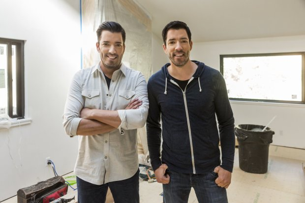 """Jonathan and Drew Scott are taking on the Bay Area real estate market inSeason 6 of HGTV's """"Brother vs. Brother."""" (HGTV)"""