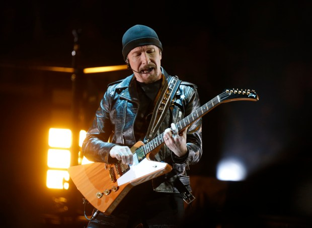 U2 performs May 7 at the SAP Center (SAP Center Photographer)