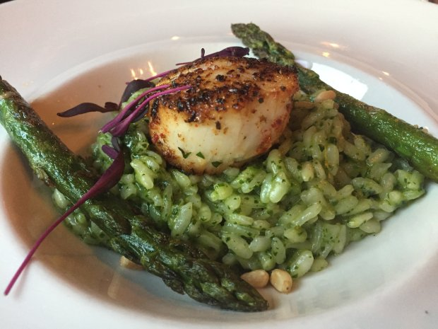 Fenix Restaurant in downtown Lodi specializes in New American cuisine usingingredients sourced from local farmers and producers. (Photo: Jessica Yadegaran/Bay Area News Group)