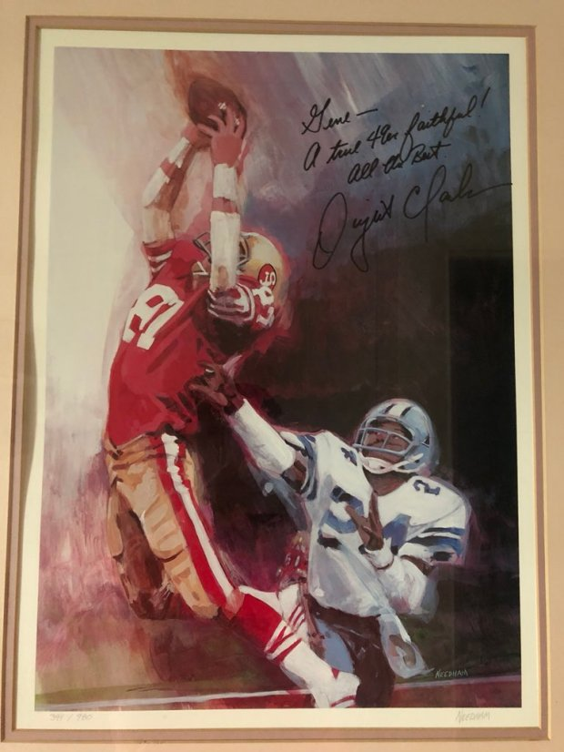1698297a7ba Dwight Clark stories  Readers share their favorite moments