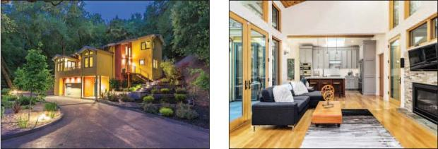 Sponsored One Of A Kind Retreat To The Forest In These 48 Custom Fascinating Hardwood Floors Living Room Exterior