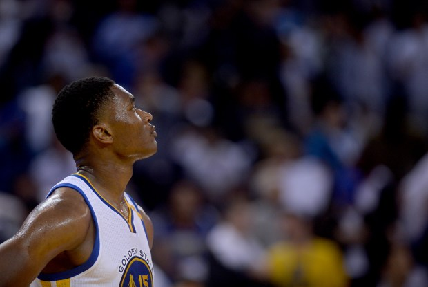 Who will be the Warriors' opening night center?