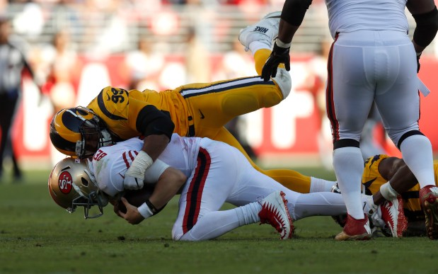 Image result for aaron donald  49ers