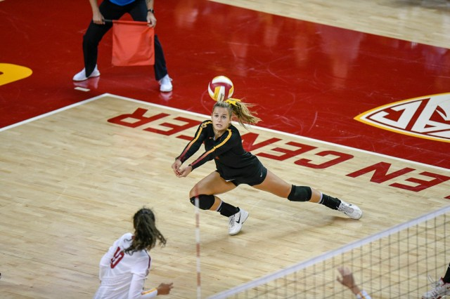 USC volleyball player teams up with The Player's Tribune