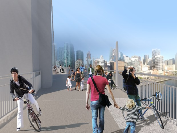 Bay Bridge bike path on west span would offer 'breathtaking views' — and a huge price tag