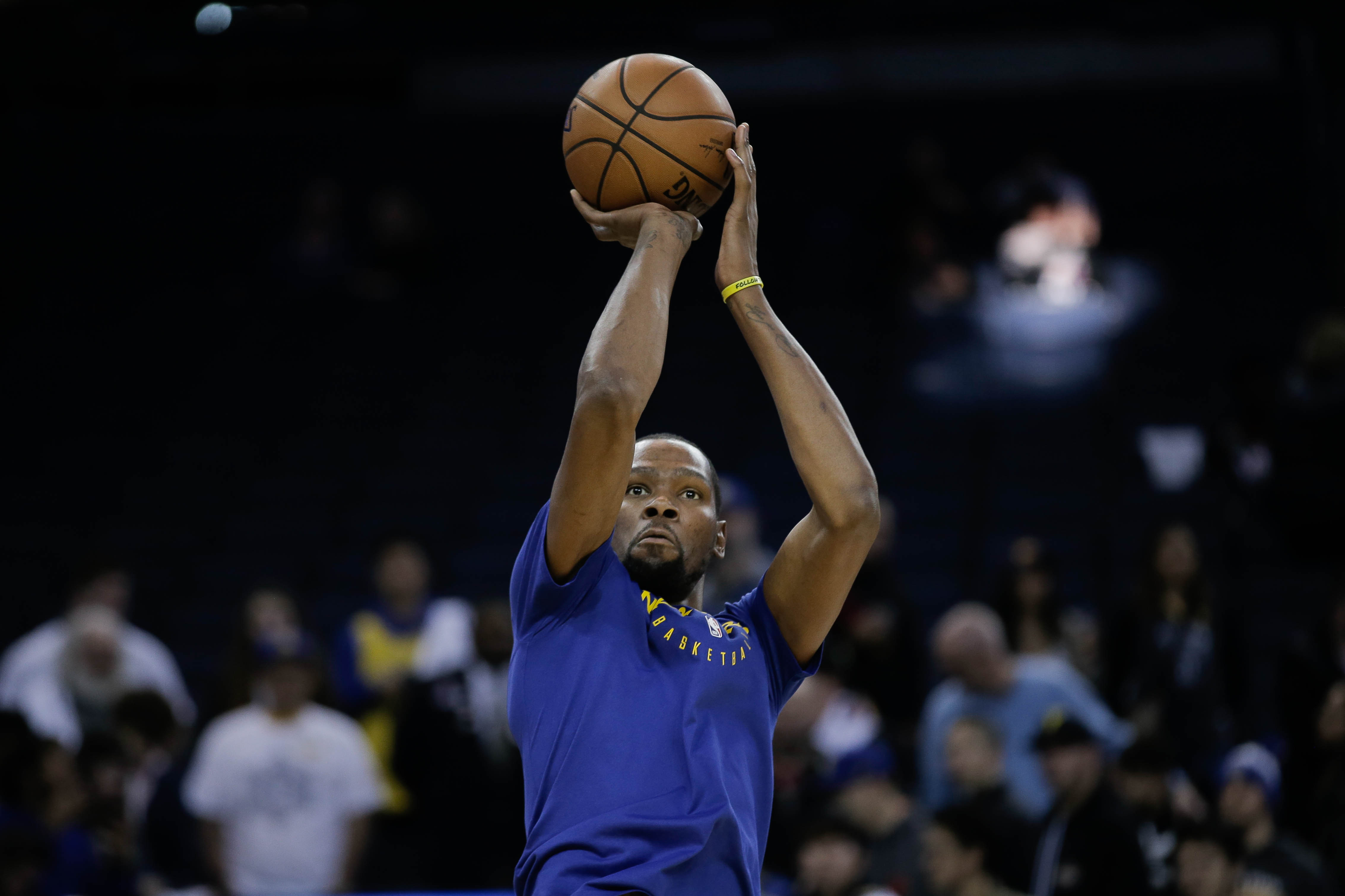 Warriors  Kevin Durant on reports of his interest in Knicks