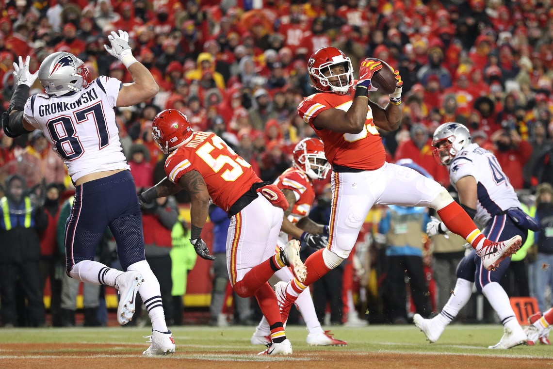 Image Result For Patriots Outlast Chiefs In Ot To Reach Super Bowl Liii